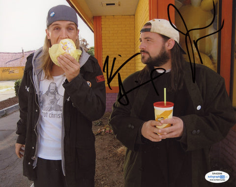Kevin Smith & Jason Mewes Jay and Silent Bob Signed Autograph 8x10 Photo ACOA #3