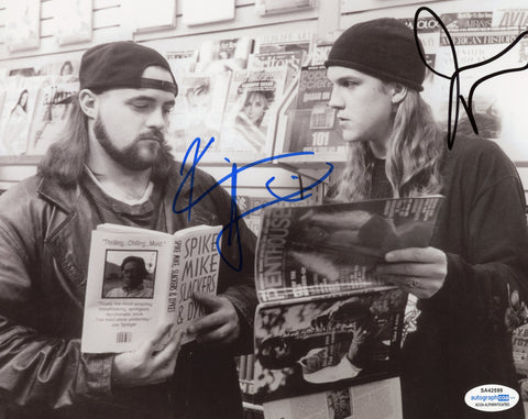 Kevin Smith & Jason Mewes Jay and Silent Bob Signed Autograph 8x10 Photo ACOA #4