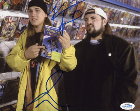 Kevin Smith & Jason Mewes Jay and Silent Bob Signed Autograph 8x10 Photo ACOA #5