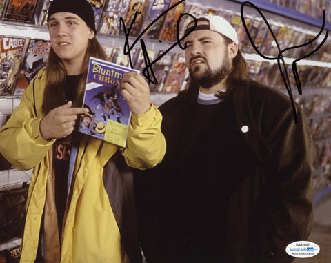 Kevin Smith & Jason Mewes Jay and Silent Bob Signed Autograph 8x10 Photo ACOA #7