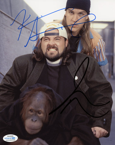 Kevin Smith & Jason Mewes Jay and Silent Bob Signed Autograph 8x10 Photo ACOA #8