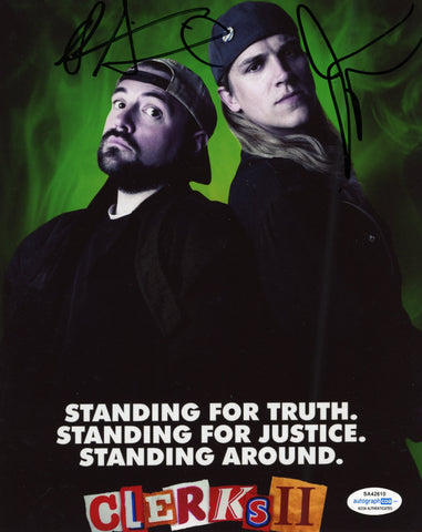 Kevin Smith & Jason Mewes Jay and Silent Bob Signed Autograph 8x10 Photo ACOA #11