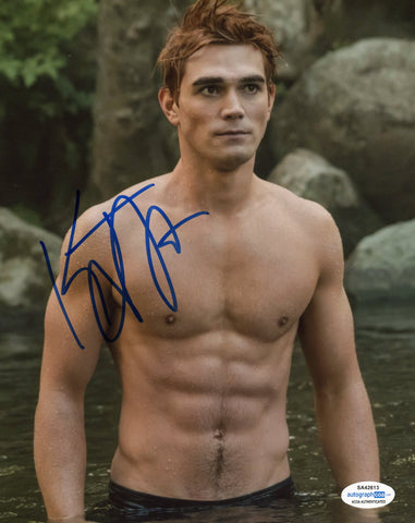 KJ Apa Riverdale Archie Signed Autograph 8x10 Photo ACOA #4 - Outlaw Hobbies Authentic Autographs