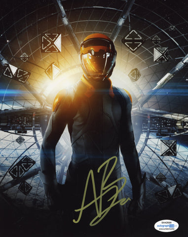 Asa Butterfield Ender's Game Signed Autograph 8x10 Photo ACOA #2