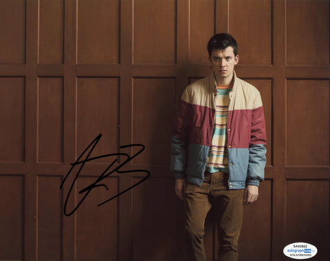 Asa Butterfield Sex Education Signed Autograph 8x10 Photo ACOA #7
