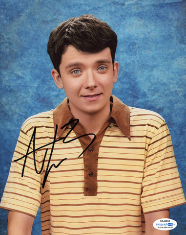 Asa Butterfield Sex Education Signed Autograph 8x10 Photo ACOA #8