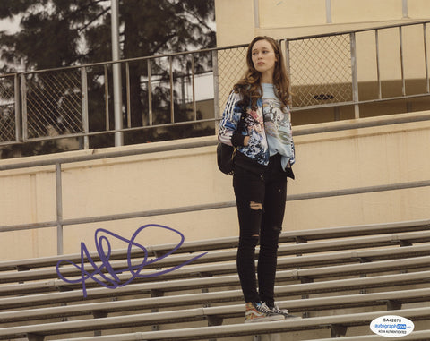 Alycia Debnam Carey Fear the Walking Dead Signed Autograph 8x10 Photo ACOA #3
