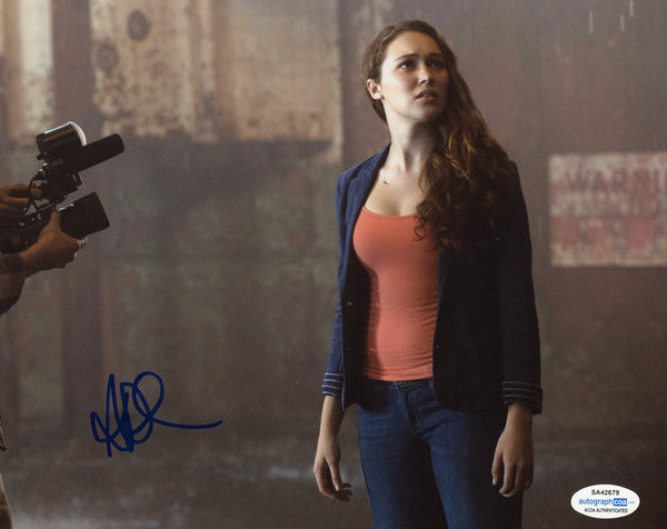 Alycia Debnam Carey Fear the Walking Dead Signed Autograph 8x10 Photo ACOA #4