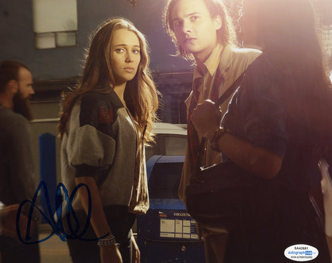 Alycia Debnam Carey Fear the Walking Dead Signed Autograph 8x10 Photo ACOA #6