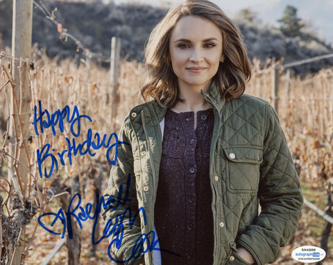 Rachael Leigh Cook Sexy Signed Autograph 8x10 Photo ACOA #6