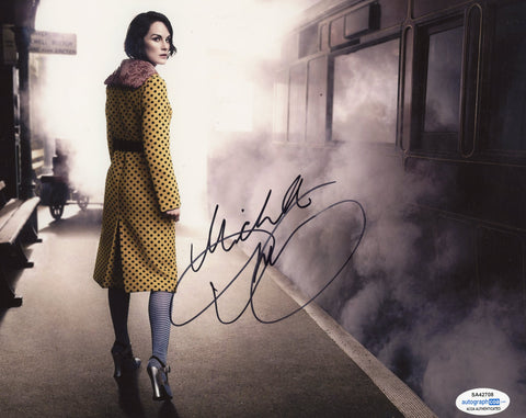Michelle Dockery Sexy Signed Autograph 8x10 Photo ACOA Downton Abbey #2