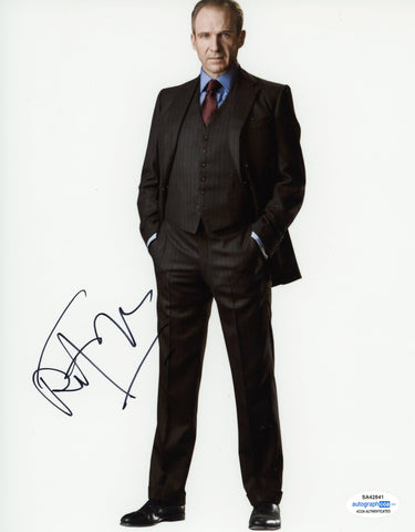 Ralph Fiennes Bond Signed Autograph 8x10 Photo ACOA