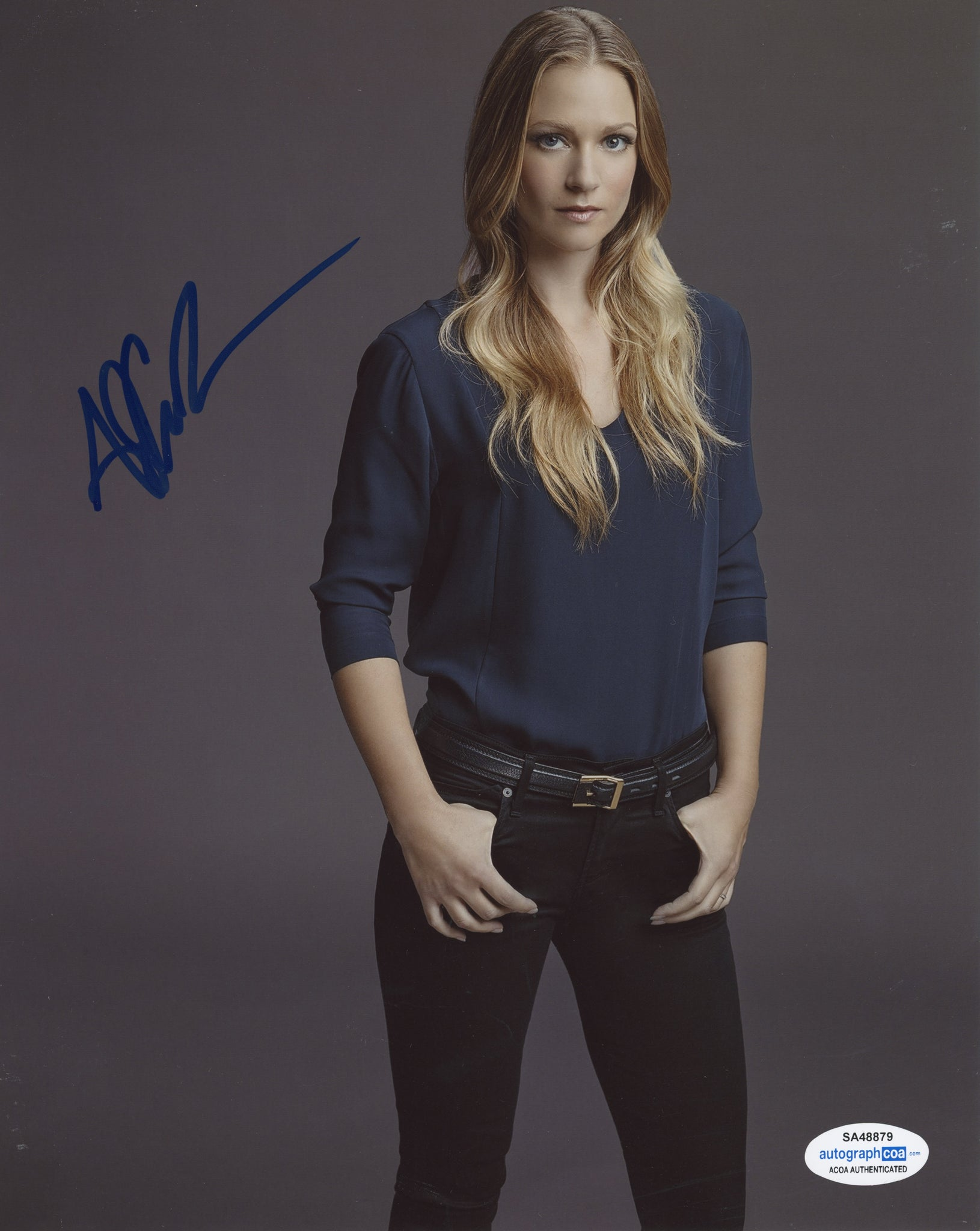 AJ A.J. Cook Criminal Minds Signed Autograph 8x10 Photo ACOA