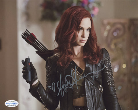 Amy Gumenick Arrow Signed Autograph 8x10 Photo ACOA