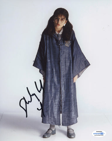 Shirley Henderson Harry Potter Moaning Myrtle Signed Autograph 8x10 Photo ACOA