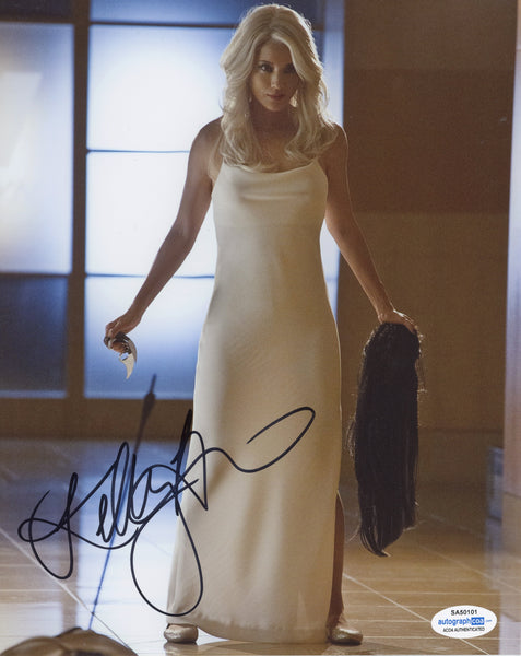 Kelly Hu Arrow Signed Autograph 8x10 Photo ACOA