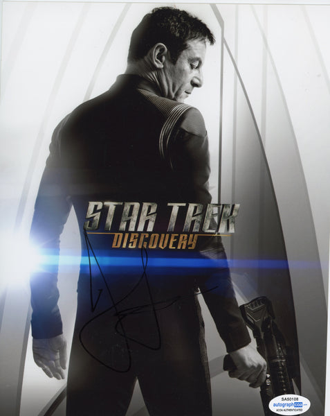 Jason Isaacs Star Trek Signed Autograph 8x10 Photo ACOA