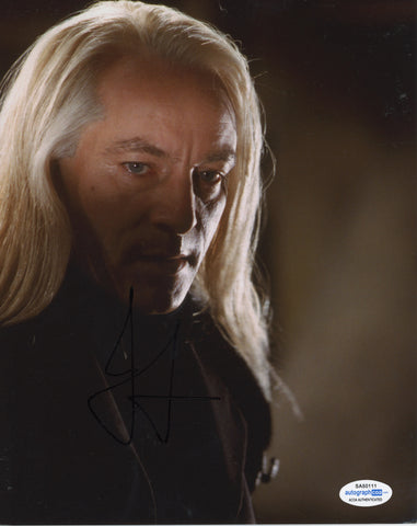 Jason Isaacs Harry Potter Signed Autograph 8x10 Photo ACOA Lucius Malfoy