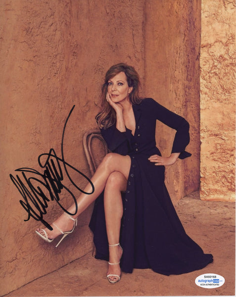Allison Janney Sexy Signed Autograph 8x10 Photo ACOA