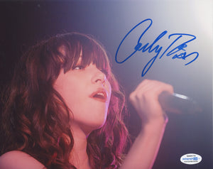 Carly Rae Jepsen Call Me Maybe Sexy Signed Autograph 8x10 Photo ACOA