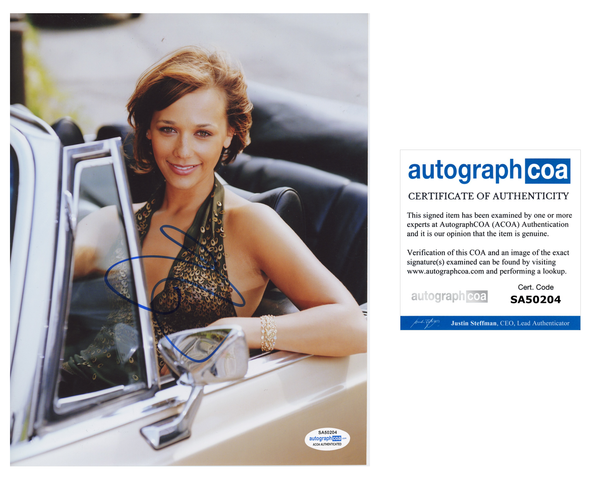 Rashida Jones Sexy Signed Autograph 8x10 Photo ACOA
