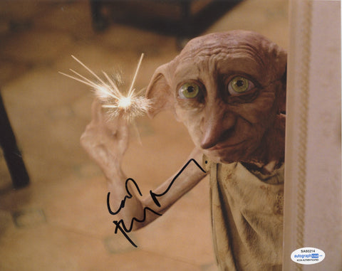 Toby Jones Harry Potter Signed Autograph 8x10 Photo ACOA
