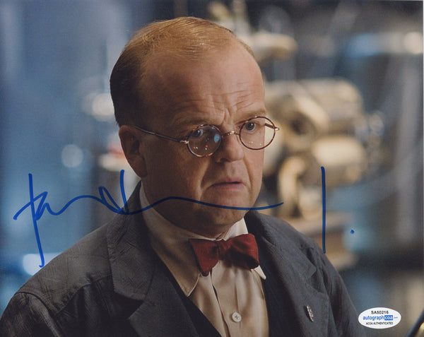Toby Jones Captain America Signed Autograph 8x10 Photo ACOA
