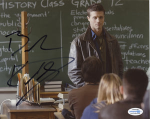 Brock Kelly Supernatural Signed Autograph 8x10 Photo ACOA