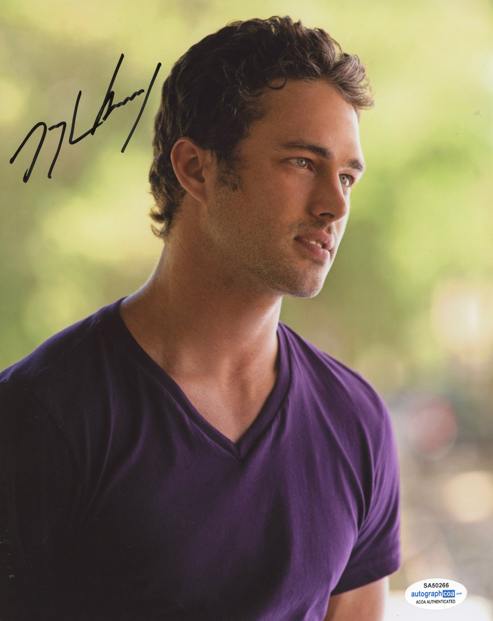 Taylor Kinney Vampire Diaries Signed Autograph 8x10 Photo ACOA