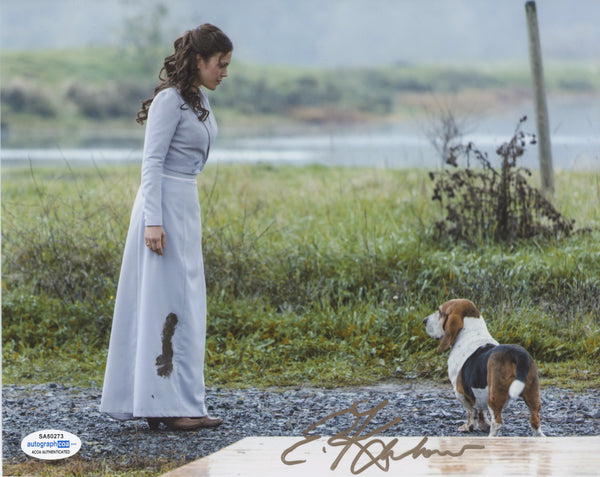 Erin Krakow When Calls the Heart Signed Autograph 8x10 Photo ACOA