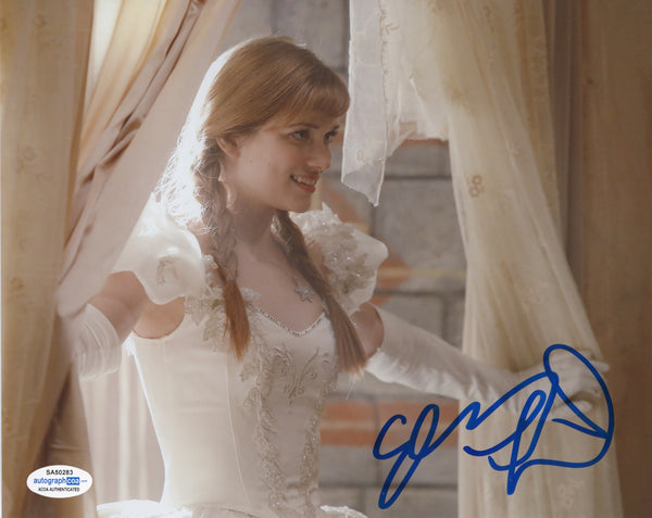 Elizabeth Lail Once Upon A Time Anna Signed Autograph 8x10 Photo ACOA