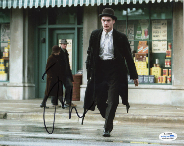 Jude Law Enemy at the Gates Signed Autograph 8x10 Photo ACOA