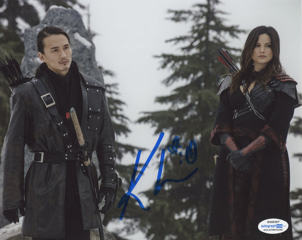 Katrina Law Arrow Signed Autograph 8x10 Photo ACOA