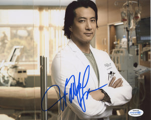 Will Yun Lee Good Doctor Signed Autograph 8x10 Photo ACOA