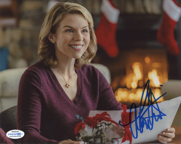 Ali Liebert Sexy Lost Girl Signed Autograph 8x10 Photo ACOA