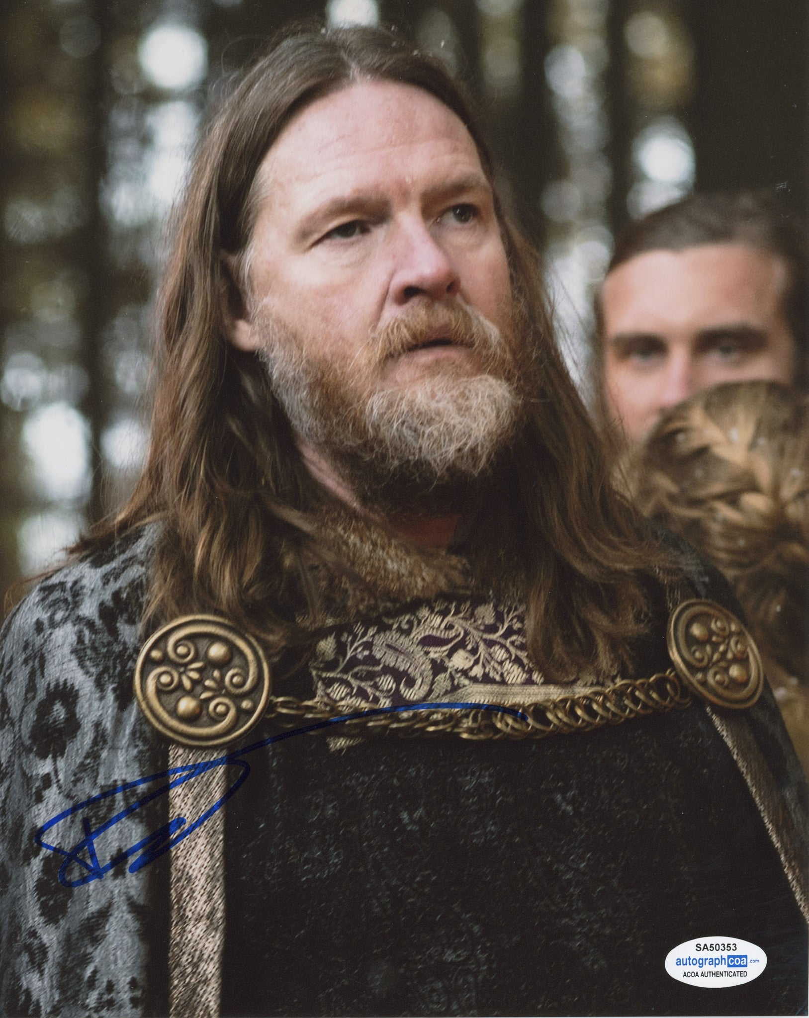 Donal Logue Vikings Signed Autograph 8x10 Photo ACOA