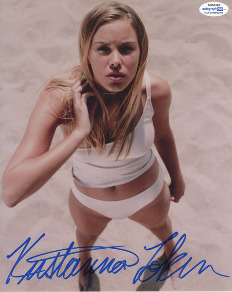 Kristanna Loken Sexy Signed Autograph 8x10 Photo
