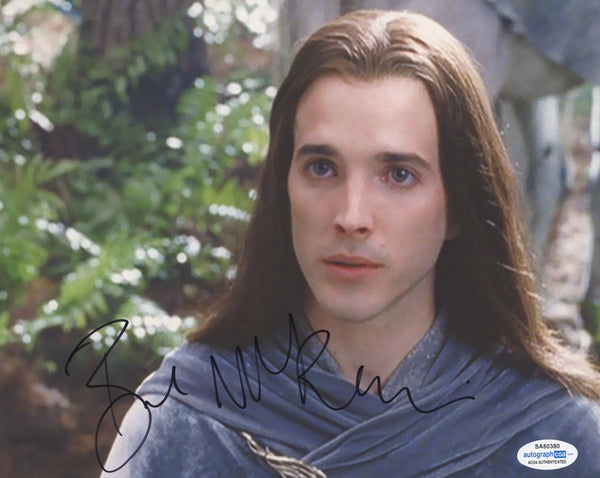Bret McKenzie Lord of the Rings Signed Autograph 8x10 Photo ACOA
