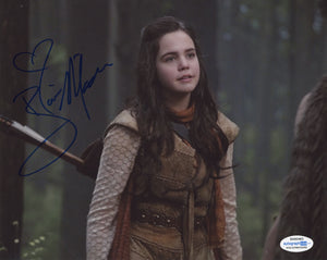 Bailee Madison Once Upon A Time Signed Autograph 8x10 Photo ACOA