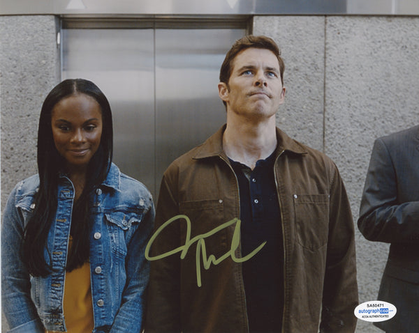 James Marsden Sonic The Hedgehog Signed Autograph 8x10 Photo ACOA