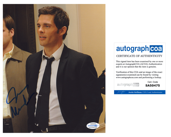 James Marsden 27 Dresses Signed Autograph 8x10 Photo ACOA