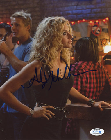 Aly Michalka Hellcats Sexy Signed Autograph 8x10 Photo ACOA