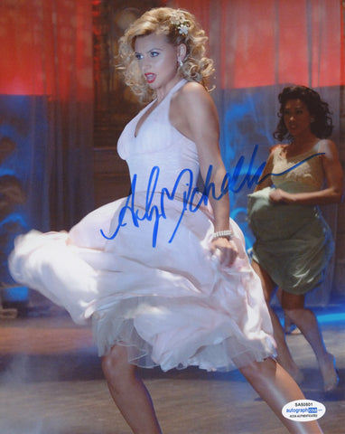 Aly Michalka Hellcats Signed Autograph 8x10 Photo ACOA