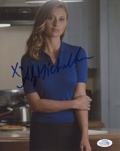 Aly Michalka iZombie Signed Autograph 8x10 Photo ACOA