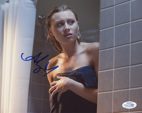 Aly Michalka The Roommate Signed Autograph 8x10 Photo ACOA