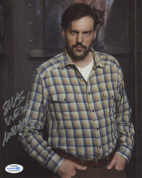 Silas Weir Mitchell Grimm Signed Autograph 8x10 Photo ACOA