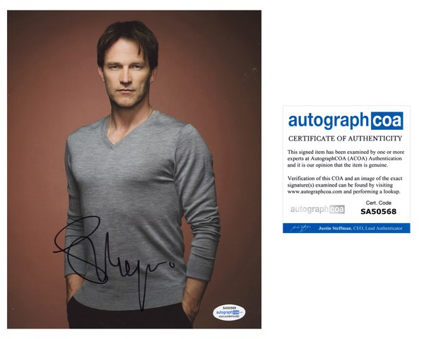 Stephen Moyer True Blood Signed Autograph 8x10 Photo ACOA