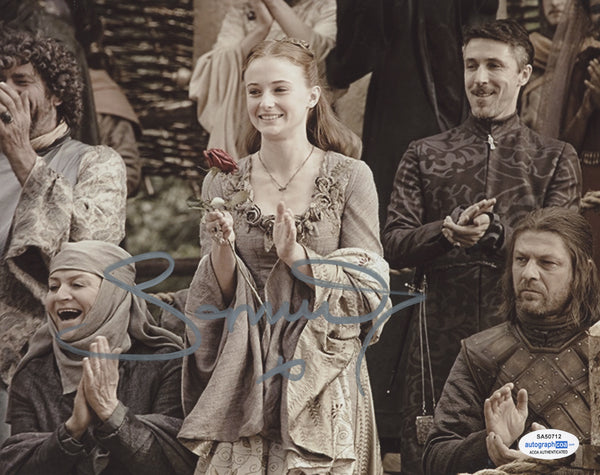 Sophie Turner Game of Thrones Signed Autograph 8x10 Photo ACOA