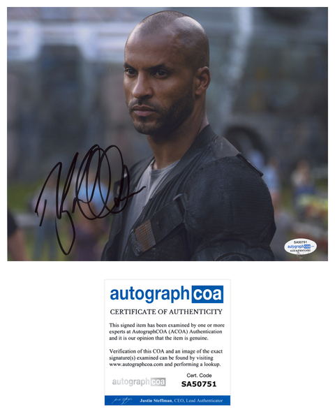 Ricky Whittle The 100 Signed Autograph 8x10 Photo ACOA