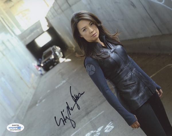 Ming Na Agents of Shield Signed Autograph 8x10 Photo ACOA